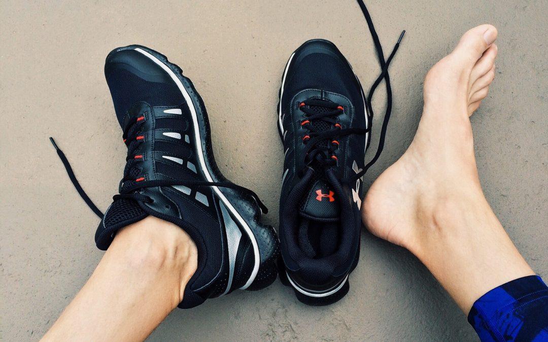 Kun je blijven fitnessen met hielspoor?
